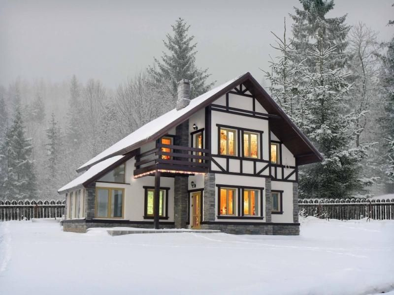 Как утеплить каркасный дом для зимнего проживания