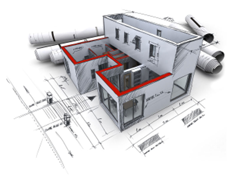 Вариант проекта быстровозводимого здания