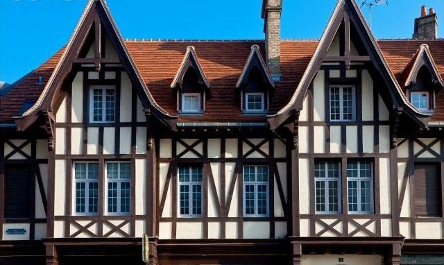 Отделка фасада в стиле фахверк своими руками