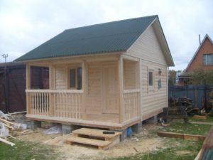 Виды бруса для строительства дома