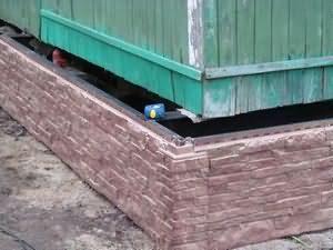 Виды фундаментов для домов из дерева
