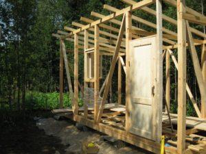 Виды материалов для строительства бытовок