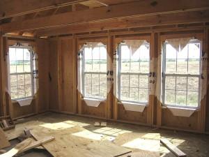 внутренняя отделка каркасного дома 2