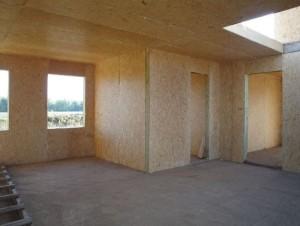 внутренняя отделка каркасного дома 3