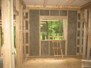 внутренняя отделка каркасного дома 4