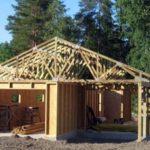 Выбор ленточного фундамента для строительства каркасного гаража