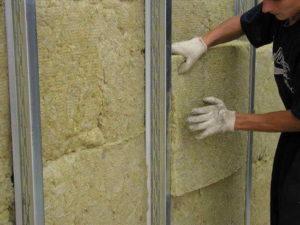Каменная вата и ее применение