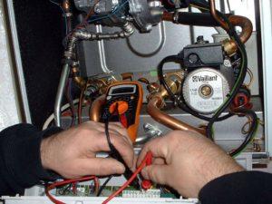 Замена сломанного датчика температуры на новый датчик