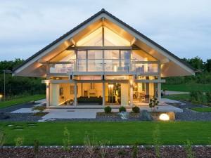 Дом построенный по каркасной технологии