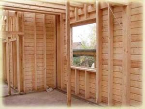 Оконный проем каркасного дома - установка окон в каркасном доме